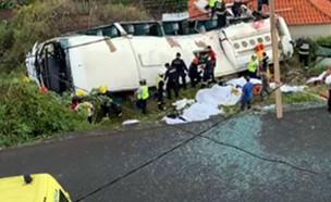 תאונה בפורטוגל, ארכיון (צילום: SKYNEWS, חדשות)