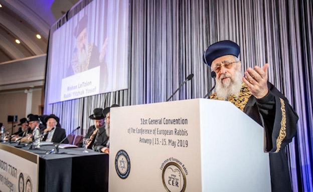 הרב הראשי הספרדי נגד רבני צהר (צילום: אלי איתקין, חדשות)