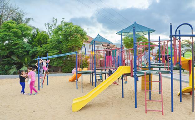 גן שעשועים ציבורי (ארכיון) (צילום: nizamkem, 123RF)