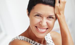 אישה בת 40 פלוס (צילום:  Alena Ozerova, shutterstock)