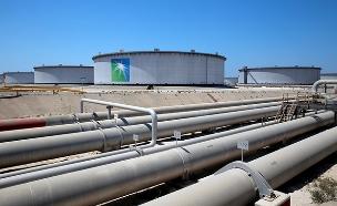 צינורות הנפט שניזוקו במתקפה במפרץ (צילום: רויטרס, חדשות)