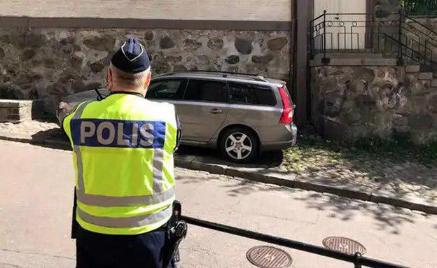 צפו: זירת התקיפה בשבדיה (צילום: חדשות)