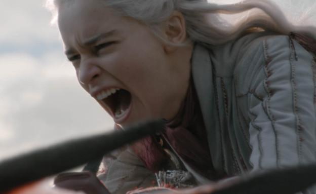 משחקי הכס עונה 8 פרק 4, דאינריז על הדרקון (צילום: Helen Sloan/HBO)