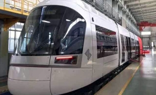 """קרונות הרכבת הקלה (ארכיון) (צילום: יח""""צ, חדשות)"""