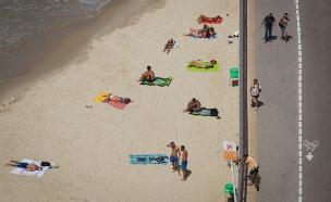 הטמפרטורות ממשיכות להיות גבוהות: שרבי ויבש (צילום: פלאש 90 מריים אלסטר, חדשות)