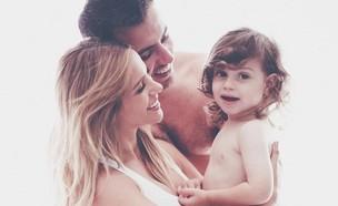 מור סילבר והמשפחה (צילום: נועה אייזן)