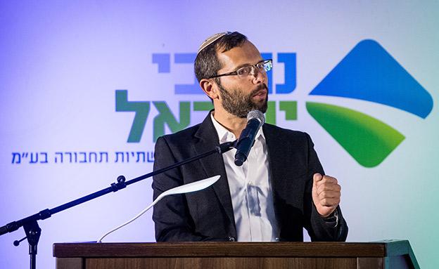 ראש מועצת מטה בנימין, ישראל גנץ (צילום: יונתן זינדל, פלאש 90, חדשות)