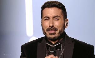קובי מרימי בגמר האירוויזיון 2019 בתל אביב (צילום: באדיבות כאן 11, חדשות)