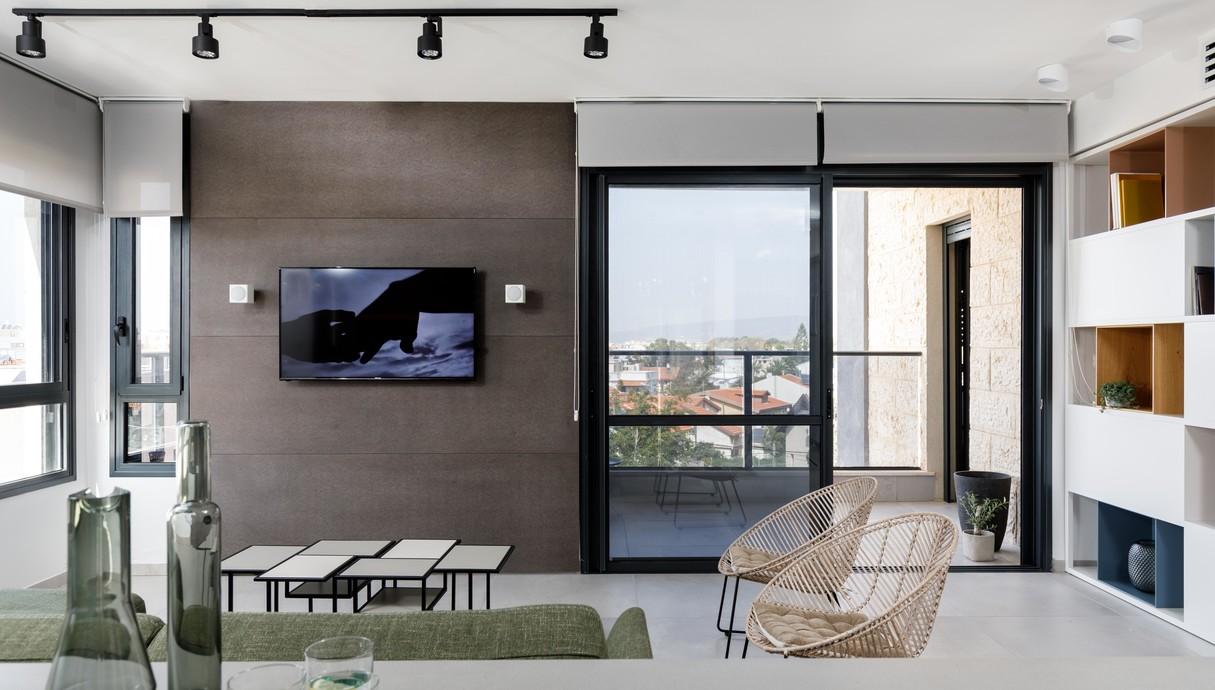 דירה בנהרייה, עיצוב ענבל איילון - 12