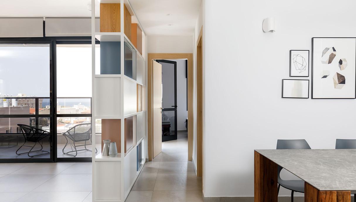 דירה בנהרייה, עיצוב ענבל איילון - 13