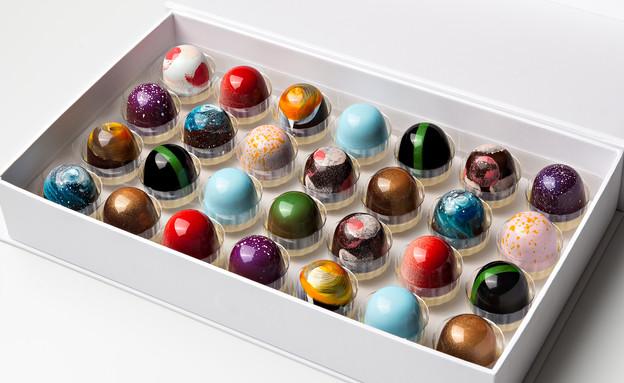 טורי שוקולד פרלינים  (צילום: סטודיו נועה וגיא,  יחסי ציבור )