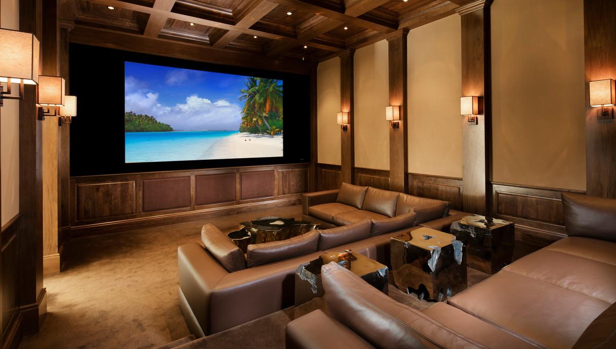 בית בארהב, חדר קולנוע