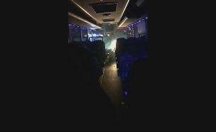 """פיגוע באוטובוס בגוש עציון (צילום: הצלה יו""""ש, חדשות)"""