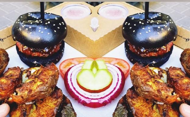 המבורגר מחתרתי  (צילום: דניאל דולי,  יחסי ציבור )