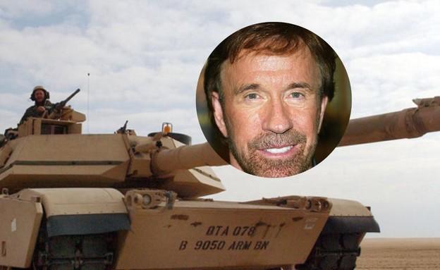 טנק צ'אק נוריס (צילום: Frederick M. Brown / Scott Nelson, GettyImages)
