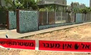 תיעוד הירי בקרית מלאכי לפני כשנה (צילום: חדשות 2)