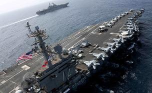 נושאת המטוסים USS Abraham Lincoln (צילום: רויטרס, חדשות)