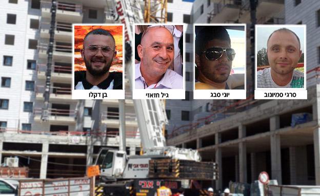 ההרוגים מהאירוע המצער ביבנה (צילום: חדשות)