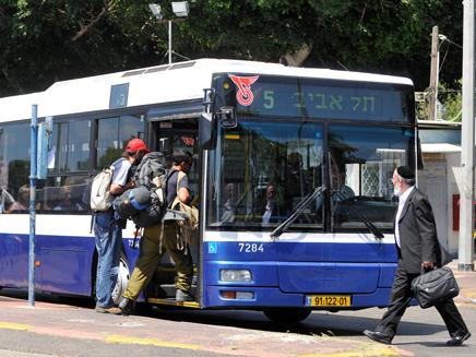 אוטובוס של חברת דן (ארכיון)