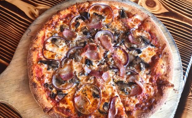 פיצה דאלי (צילום: מעיין גוטנמכר)