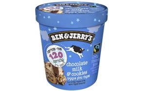 בן אנד ג'ריס - גלידת שוקולד מילק & קוקיס  (צילום: יחסי ציבור בן & ג'ריס)