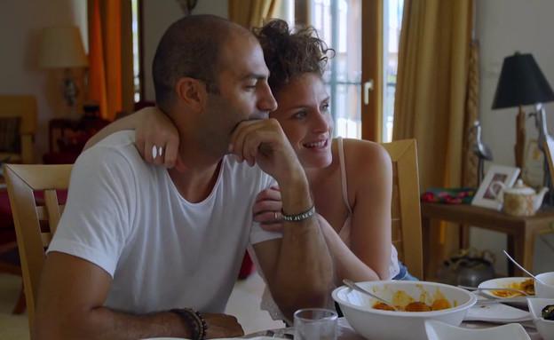 """צוקית פוגשת את המשפחה של דודו (צילום: מתוך """"חתונה ממבט ראשון 2"""", קשת 12)"""