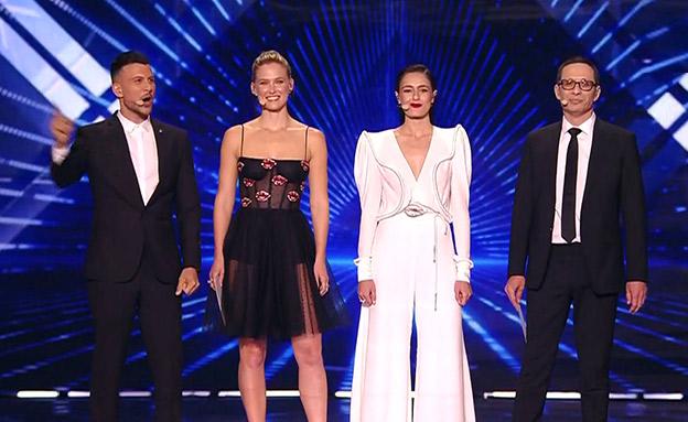 מנחי האירוויזיון 2019 (צילום: החדשות)