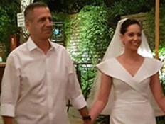 """הרמטכ""""ל בחתונת בתו (צילום: החדשות)"""