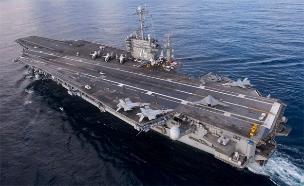 נושאת המטוסים האמריקנית הארי טרומן (צילום: רויטרס, חדשות)