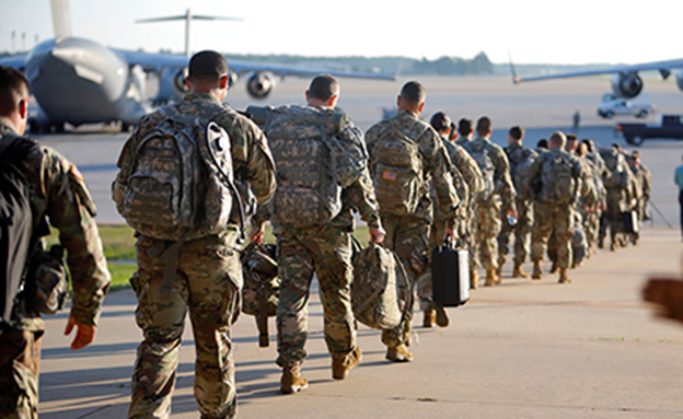 """ארה""""ב תתגבר כוחות באזור? (צילום: רויטרס, חדשות)"""