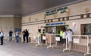 בית החולים סורוקה. ארכיון (צילום: רן דהן / TPS, חדשות)