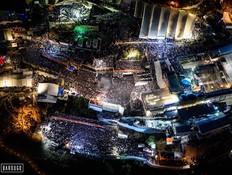 """זו האמת על התמונה של """"ההפגנה"""" בתל אביב"""