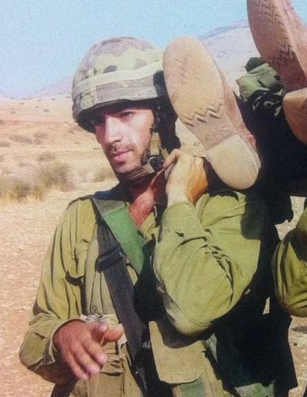 דודו כהן בשירות הצבאי (צילום: אלון חן)
