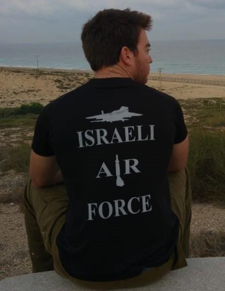 ליאור לביא בשירות הצבאי (צילום: אלון חן)