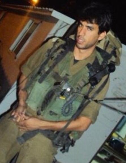 יוגב אלקיים בשירות הצבאי (צילום: אלון חן)