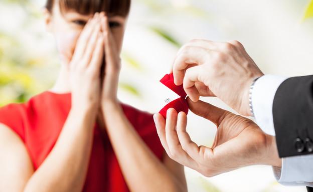 הצעת נישואים, שאטרסטוק (צילום: kateafter | Shutterstock.com )