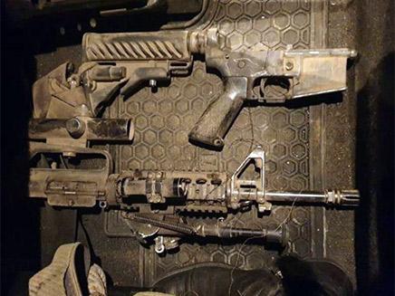 רובה ה-M16 שנתפס