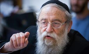 הרב שטרן מגיב (צילום: פלאש 90, חדשות)