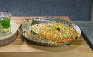 הטעימה העיוורת של גל קספרס-פיקט אקסטרה (צילום: מאסטר שף, שידורי קשת)