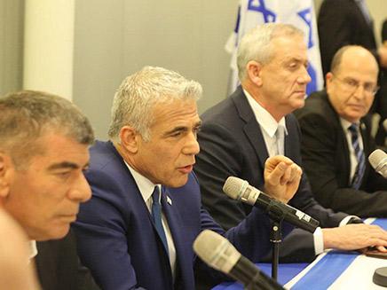 מפלגת כחול לבן (צילום: החדשות)