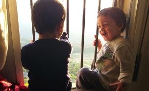 הילדים שיחקו באש - הדירה נשרפה (צילום: באדיבות המשפחה, חדשות)