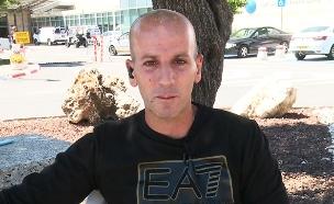 קלוד בן סעדון, אביו של עילי שנספה בשרפה (צילום: החדשות)