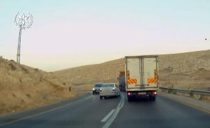המאבק בנהיגה הפרועה בכבישי השטחים (צילום: דוברות המשטרה, חדשות)