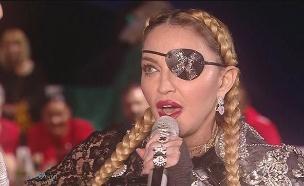 """מדונה מבצעת שוב את """"Like A Prayer"""" (צילום: באדיבות כאן 11, חדשות)"""
