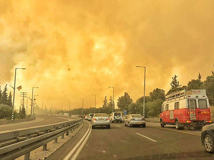 שרפוה סמוך לירושלים בשבוע שעבר