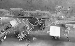 השמדת מנהרת חיזבאללה גדולה ביותר (צילום: דובר צהל, חדשות)