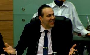 מיקי זוהר בדיון בועדת הכנסת (צילום: ערוץ הכנסת, חדשות)