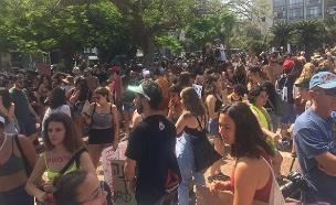 צעדת השרמוטות בתל אביב (צילום: דוברות עמותת כולן, חדשות)