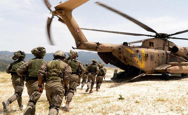 תרגיל חיל האוויר ויחידת אגוז בקפריסין (צילום: דובר צה