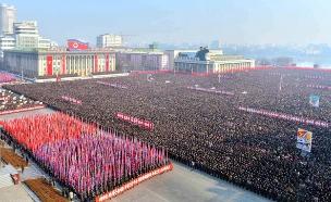 מצעד צבאי בפיונגיאנג (צילום: רויטרס, חדשות)